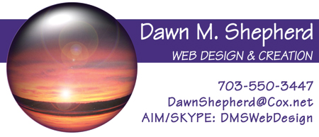 Dawn Shepherd, Web Design & Creation